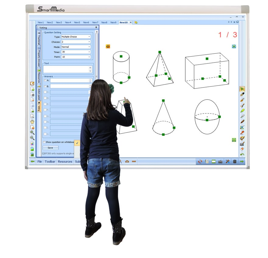 SmartMedia Interactive Whiteboards IWB-CCD02-F and IWB-CCD02-100-F