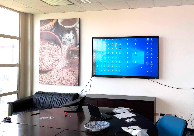 Lavagna Monitor SMA serie X   Smartmedia presso 3A-Parco Tecnologico agroalimentare dell'Umbria