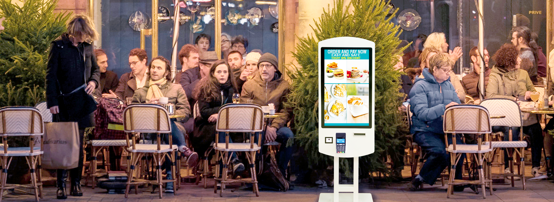 CASSA SELF SERVICE DIGITAL SIGNAGE, SELF-SERVICE PAYMENT KIOSK SmartMedia