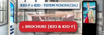 KIO-F Brochure - Totem Interattivi SmartMedia Monofacciali