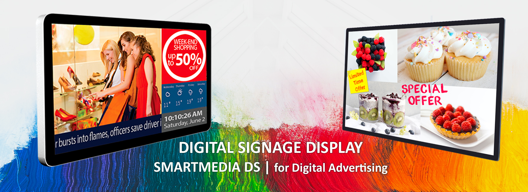 SmartMedia DS   Digital Signage Professionla Displays