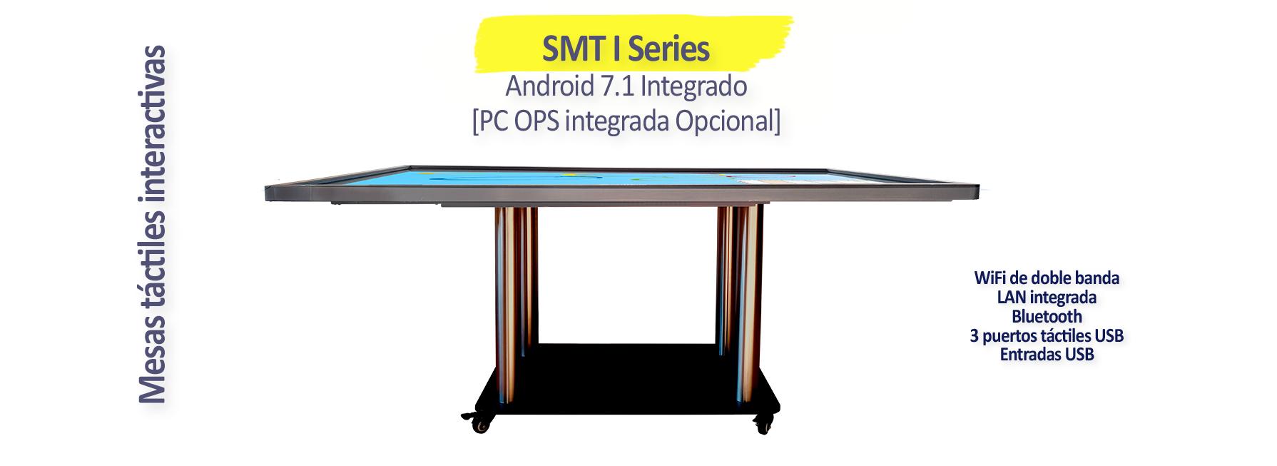 Mesas táctiles interactivas SmartMedia | Serie SMT I