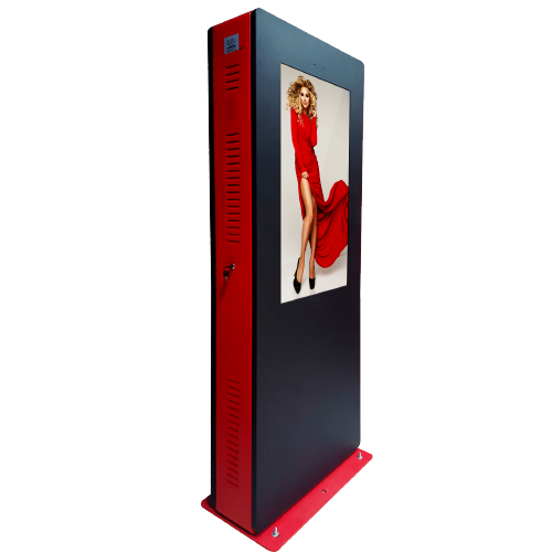 OUTDOOR DOUBLE-SIDED INTERACTIVE KIOSKS