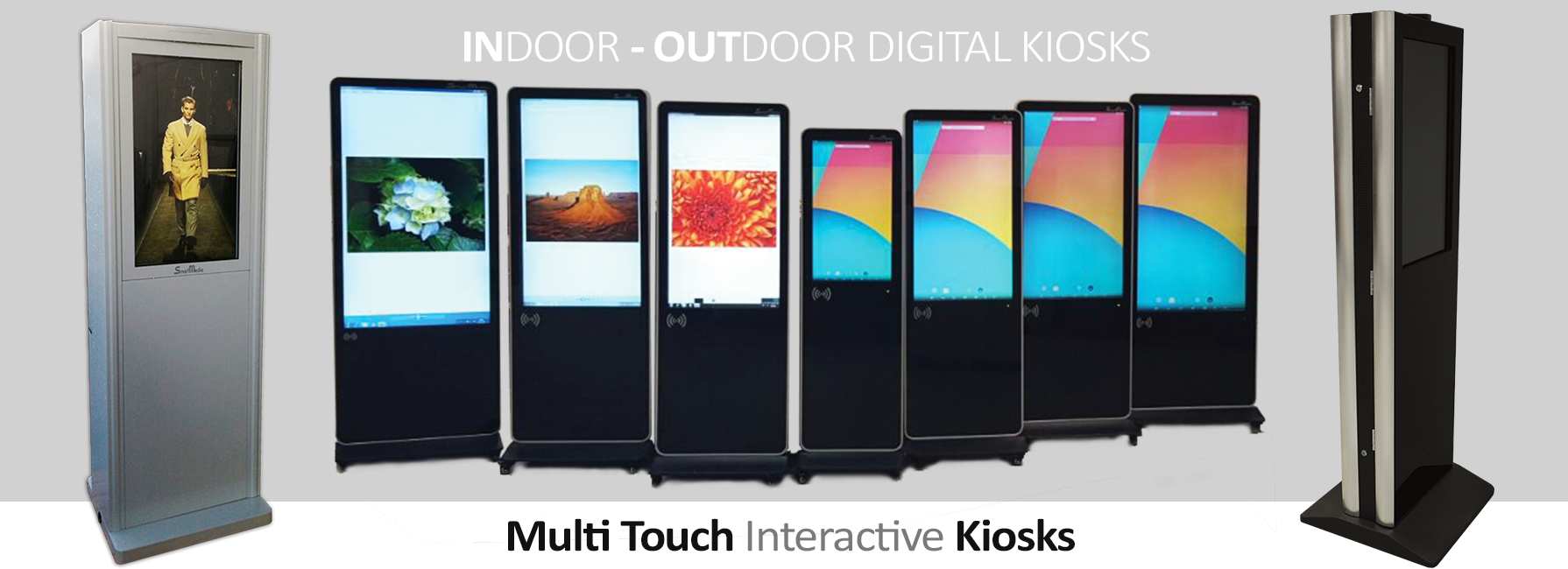 Multi Touch Kiosks, Interactive Kiosks by Smartmedia