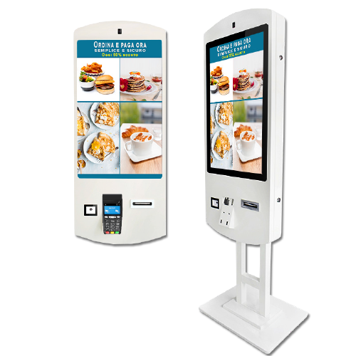 Checkout Self Service Digital Signage, Self-Service Payment Kiosk - SmartMedia