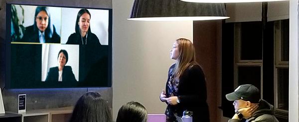Schermi multimediali e monitor interattivi per sale riunioni, smartworking, riunioni a distanza