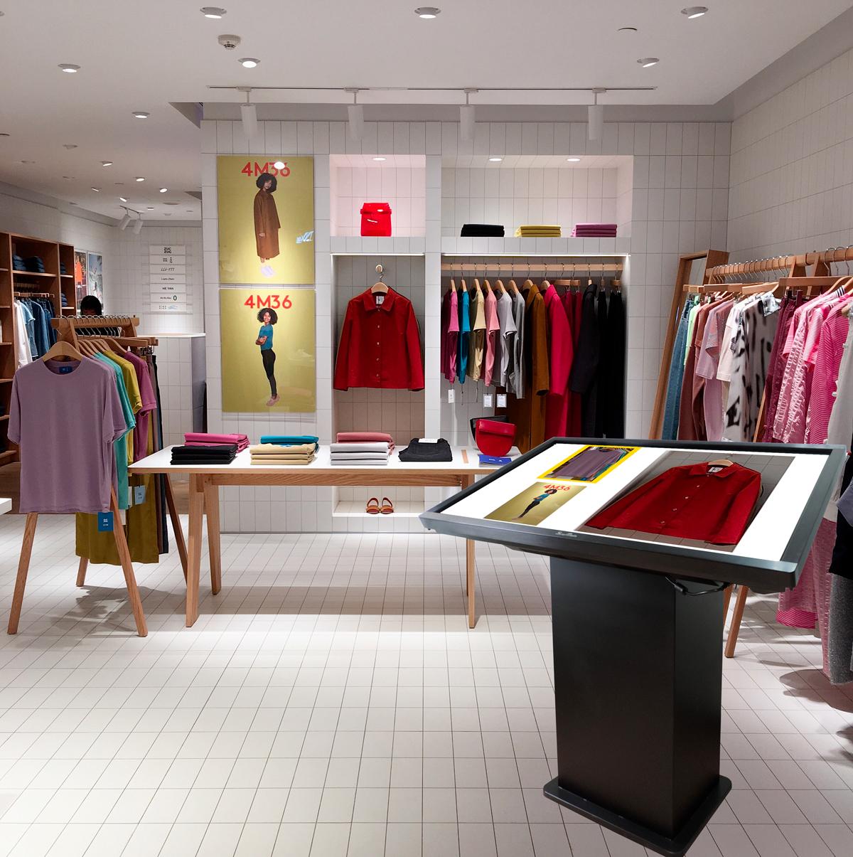 Leggi tutto l'articolo - Lascia interagire i clientii con i prodotti del tuo magazzino.