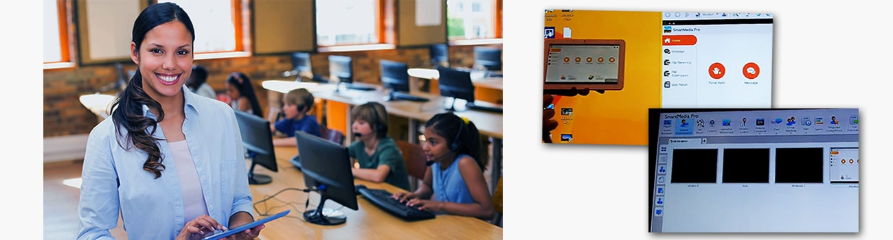 Classroom management software SmartMediaPRO