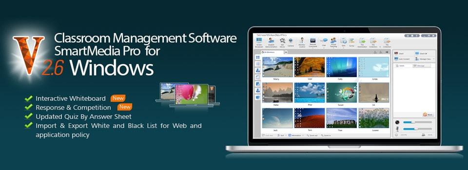 logiciel de gestion de salle de classe smartmedia europe