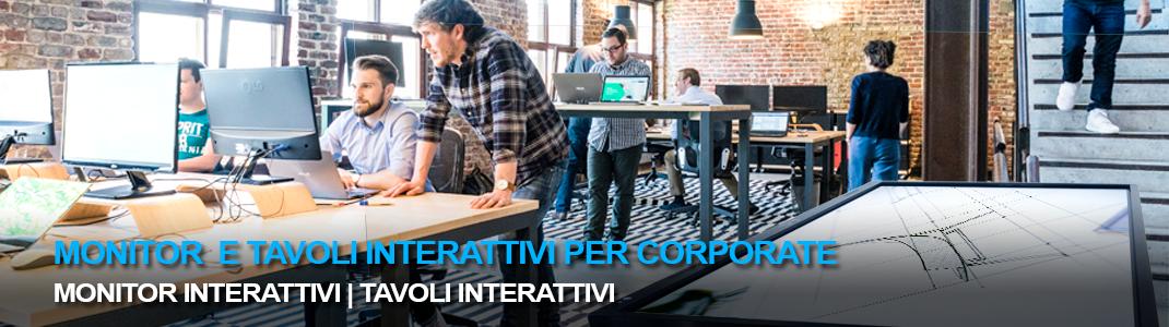 Per tutti i tipi di azienda: tecnologia interattiva per interagire con il cliente, aumentare la produttività e diminuire i costi di gestione